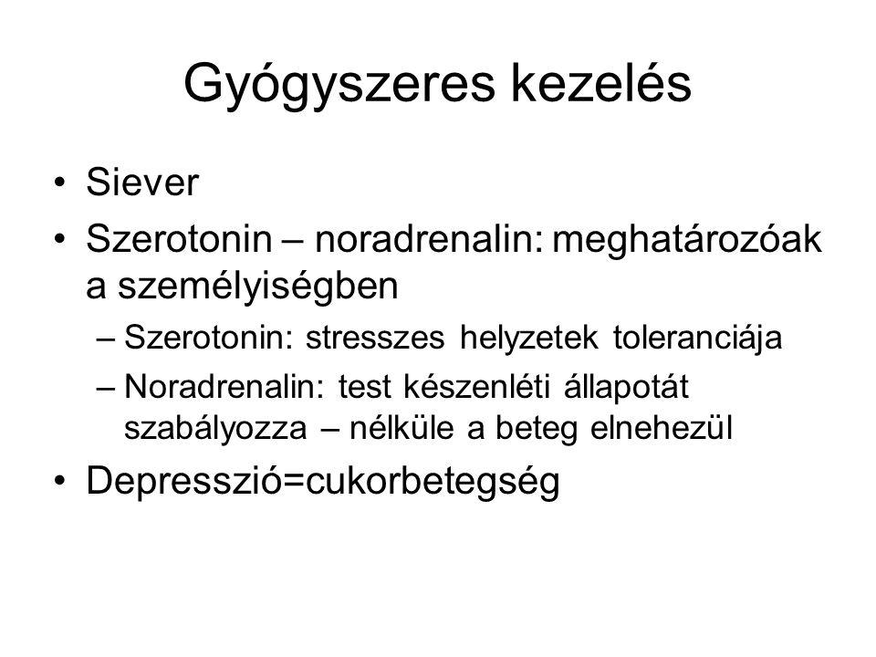 Gyógyszeres kezelés Siever