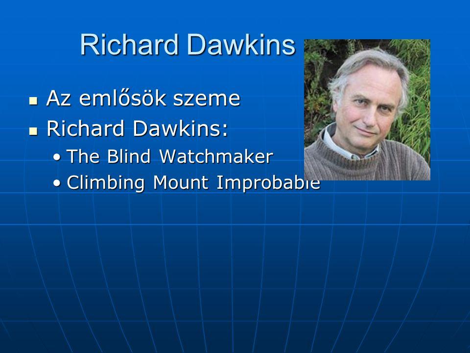 Richard Dawkins _ Az emlősök szeme Richard Dawkins: