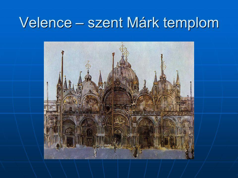 Velence – szent Márk templom