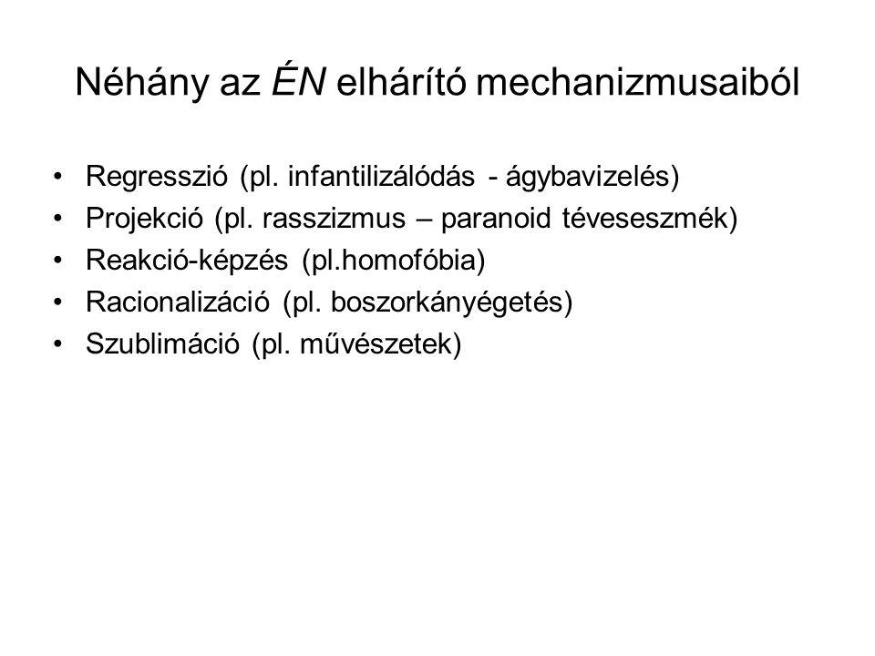 Néhány az ÉN elhárító mechanizmusaiból