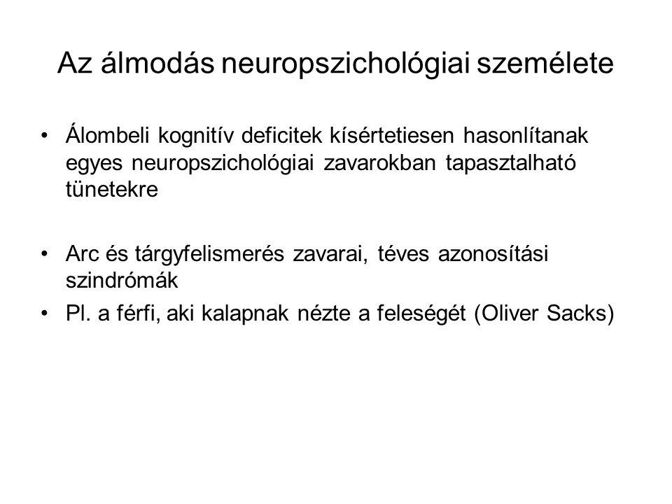 Az álmodás neuropszichológiai személete