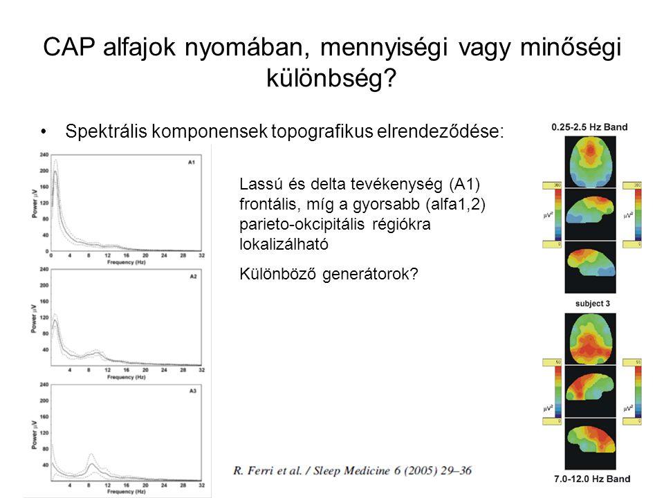CAP alfajok nyomában, mennyiségi vagy minőségi különbség