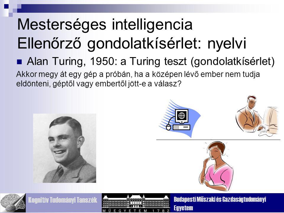 Mesterséges intelligencia Ellenőrző gondolatkísérlet: nyelvi