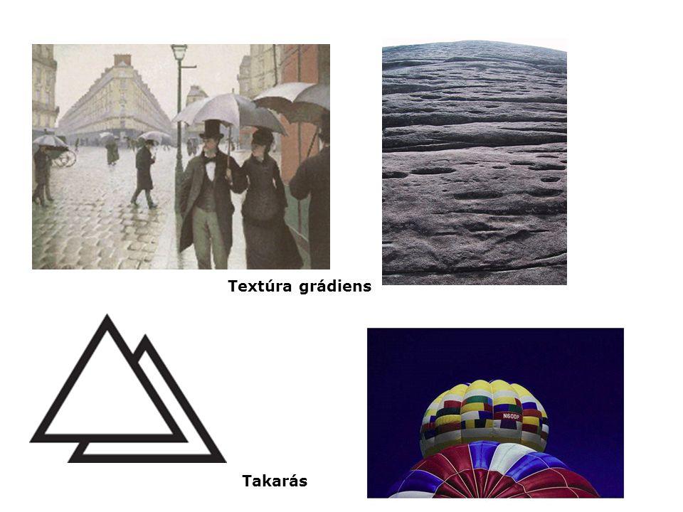 Textúra grádiens Takarás