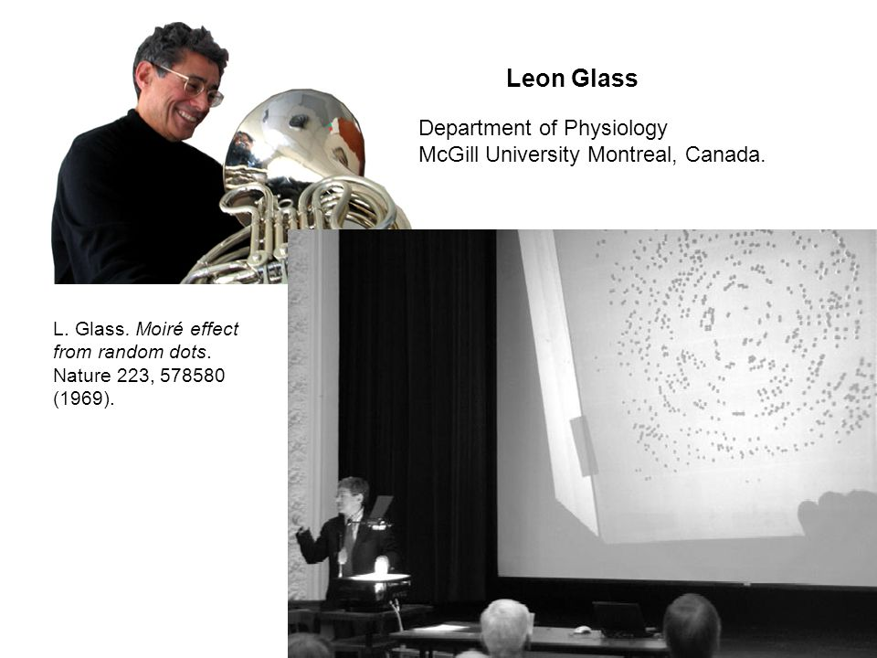 Leon Glass Department of Physiology