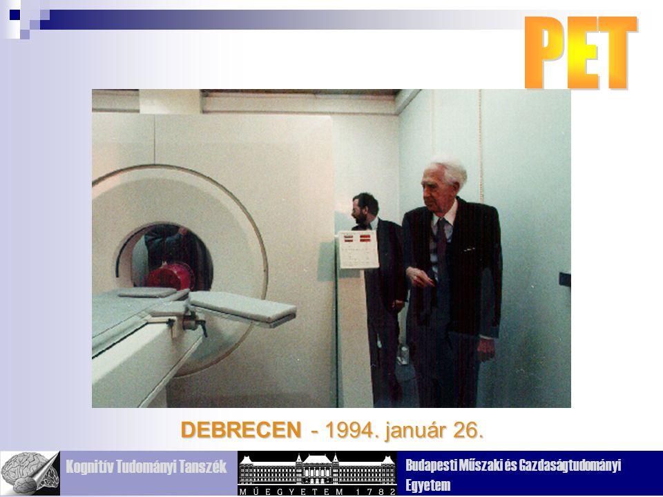 PET DEBRECEN - 1994. január 26.