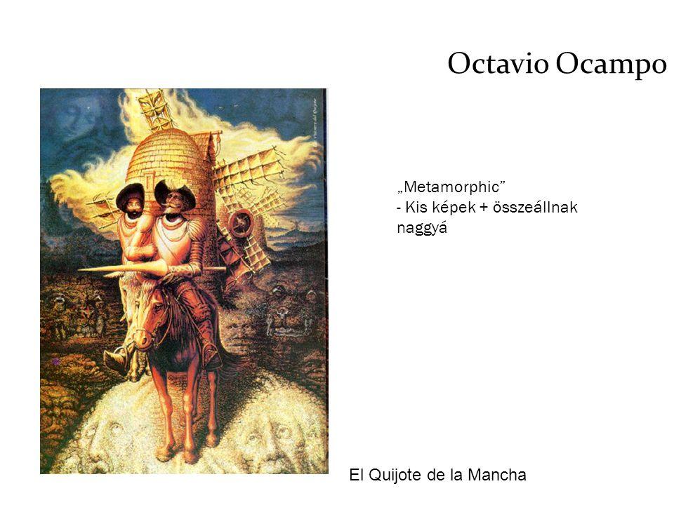 """Octavio Ocampo """"Metamorphic - Kis képek + összeállnak naggyá"""