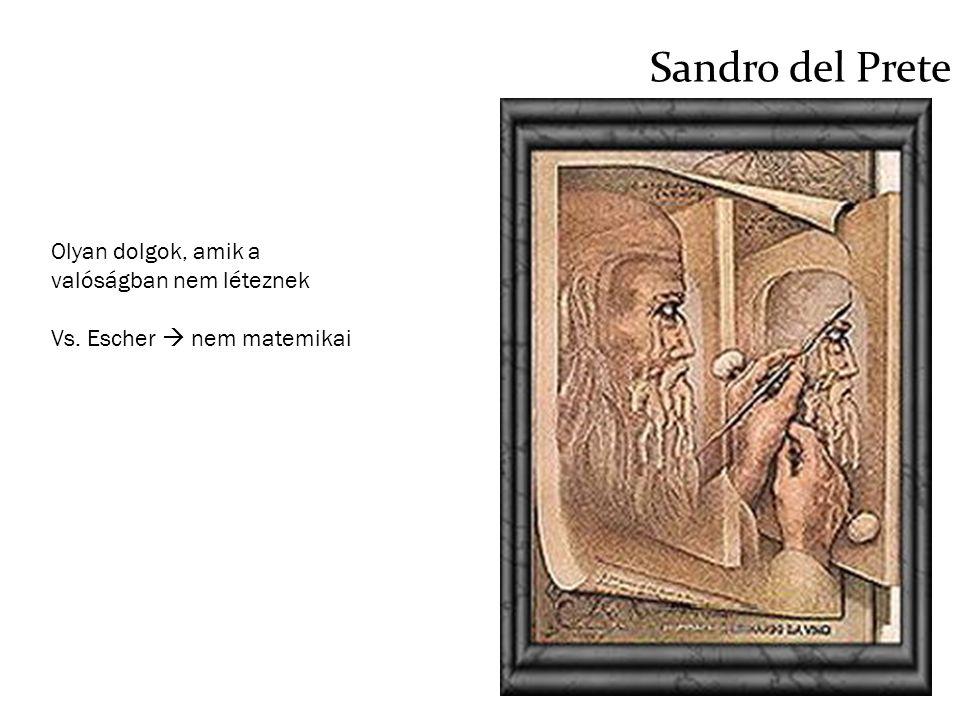 Sandro del Prete Olyan dolgok, amik a valóságban nem léteznek