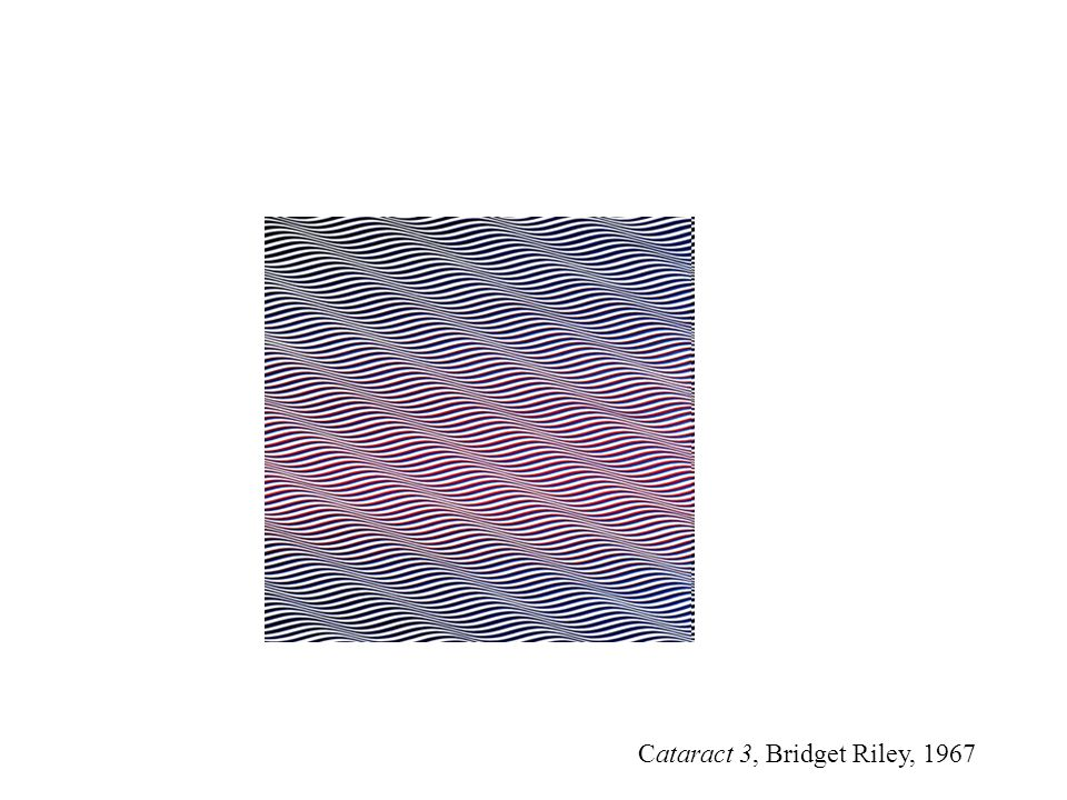 Cataract 3, Bridget Riley, 1967