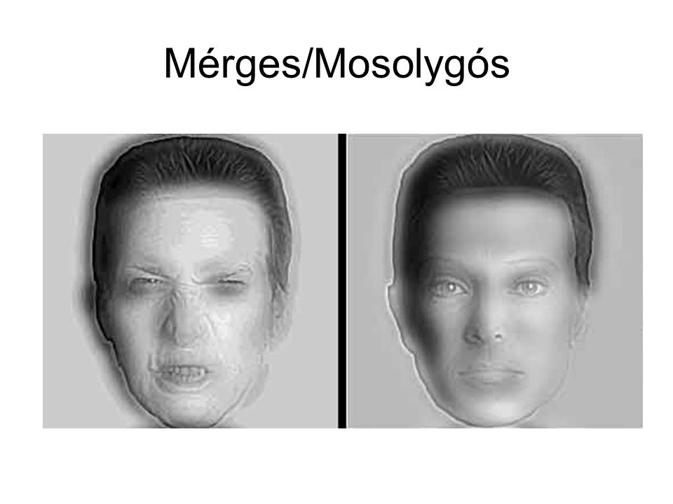 Mérges/Mosolygós