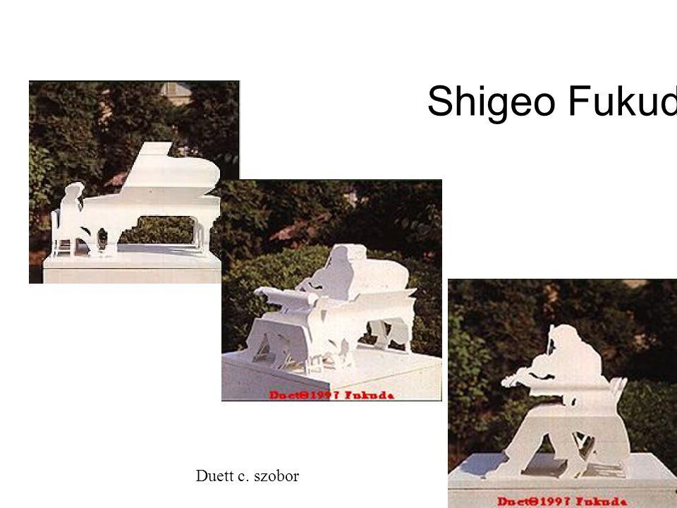 Shigeo Fukuda Duett c. szobor