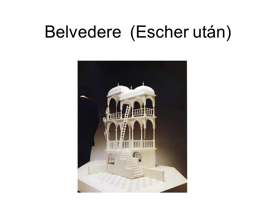 Belvedere (Escher után)