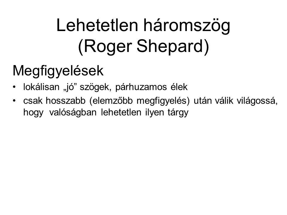 Lehetetlen háromszög (Roger Shepard)