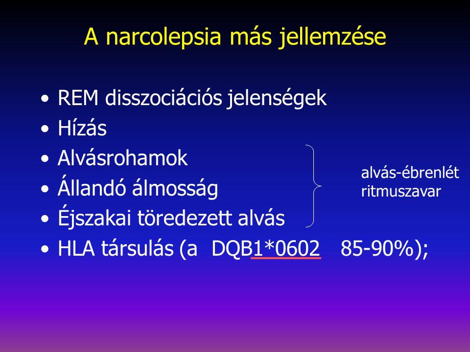 A narcolepsia más jellemzése