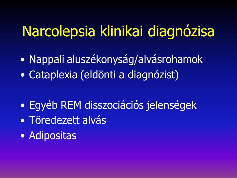 Narcolepsia klinikai diagnózisa