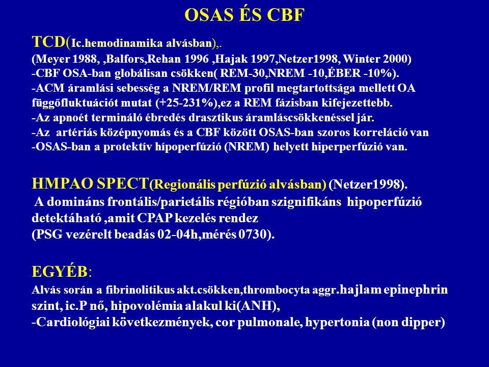 OSAS ÉS CBF TCD(Ic.hemodinamika alvásban),.