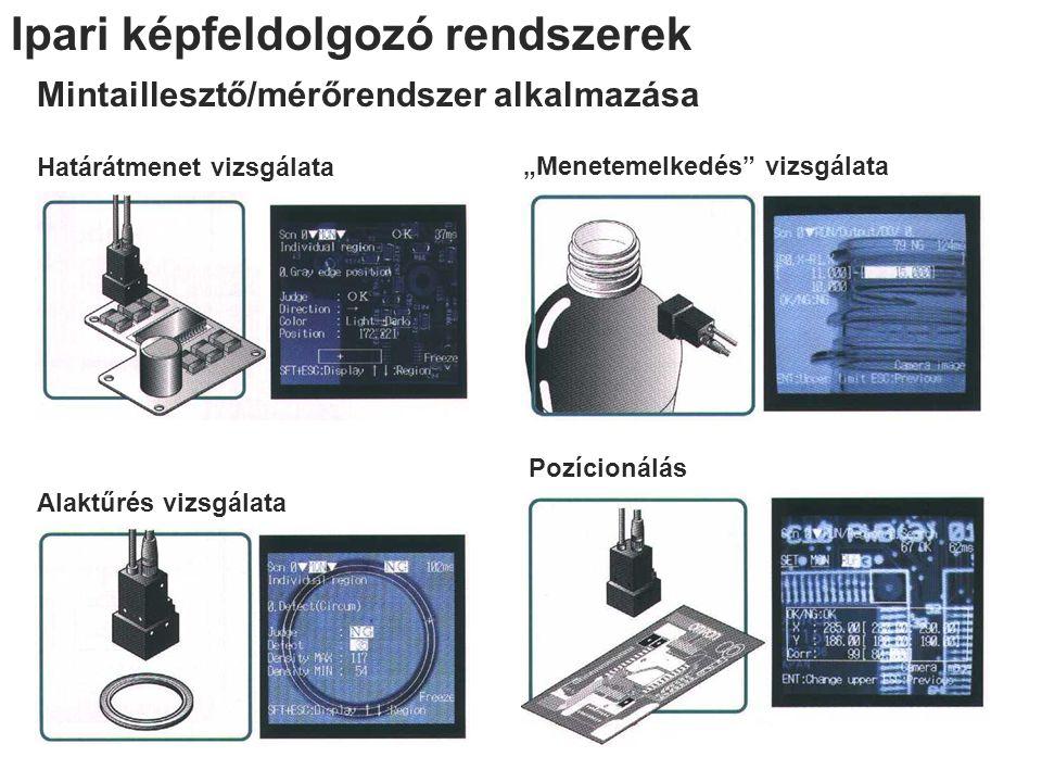 Ipari képfeldolgozó rendszerek
