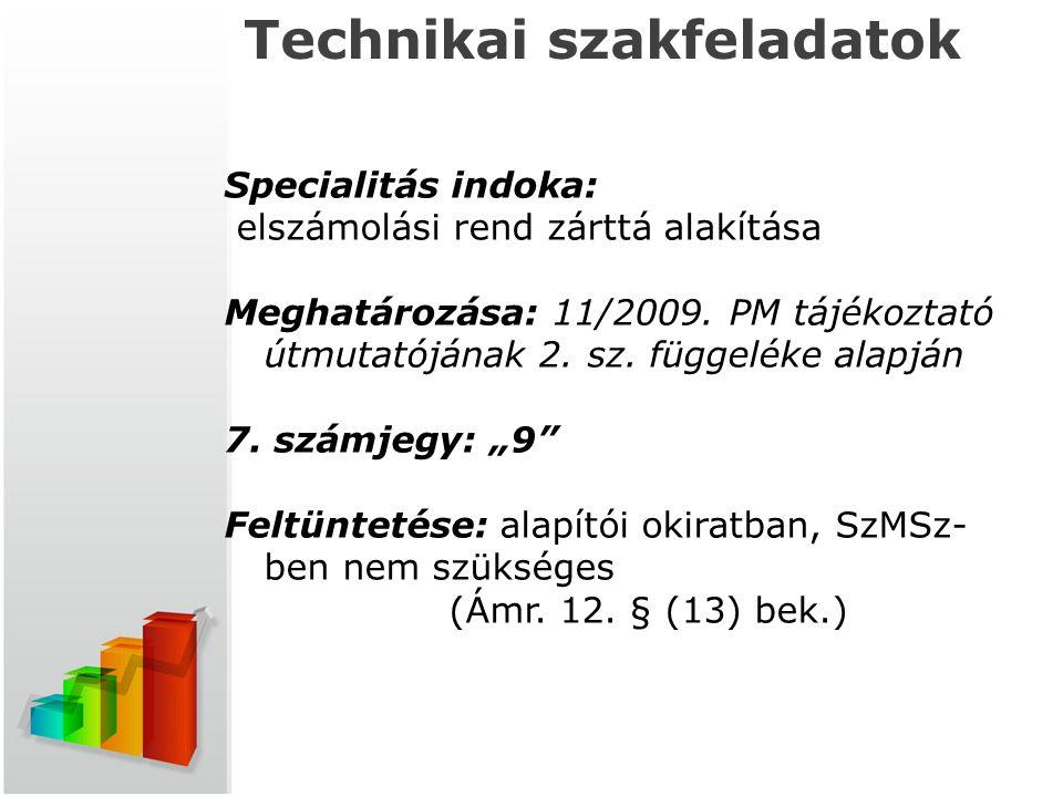 Technikai szakfeladatok