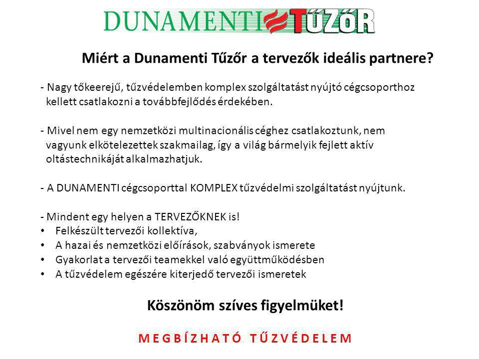 Miért a Dunamenti Tűzőr a tervezők ideális partnere