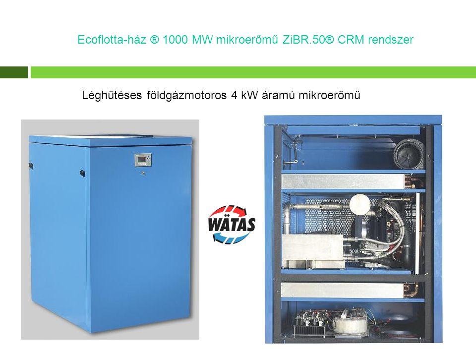 Modulárisan változtatható biogázmotor teljesítmény: