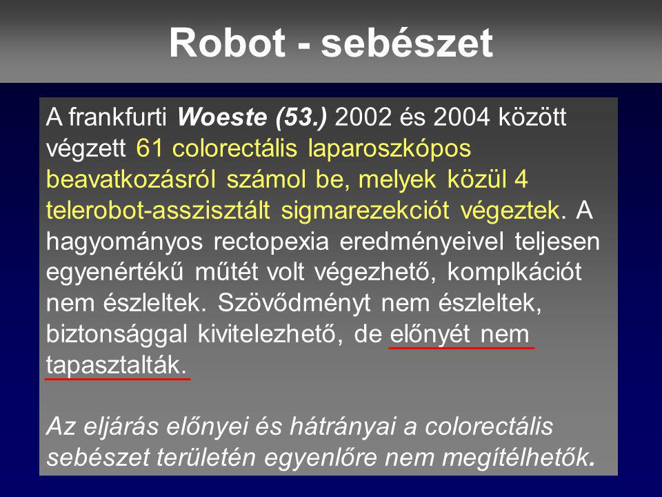Robot - sebészet