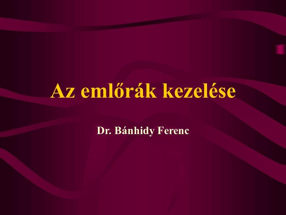 Az emlőrák kezelése Dr. Bánhidy Ferenc