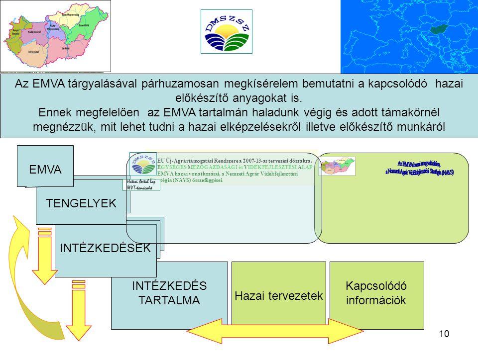Az EMVA hazai megvalósítása,