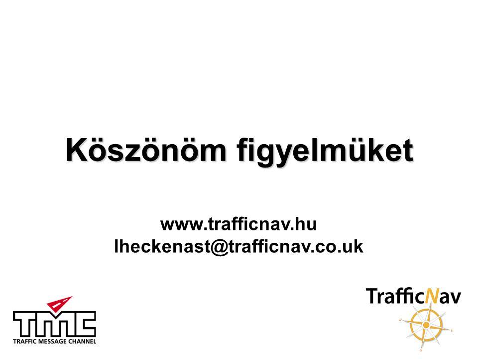 www.trafficnav.hu lheckenast@trafficnav.co.uk