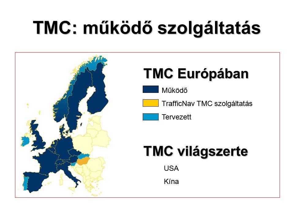 TMC: működő szolgáltatás