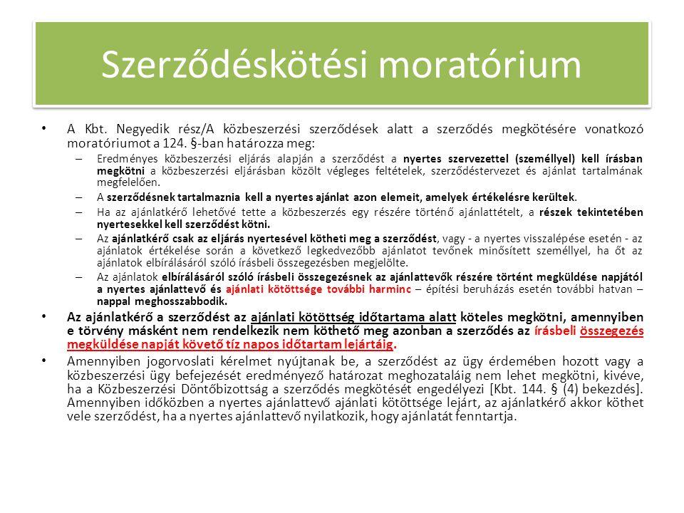 Szerződéskötési moratórium