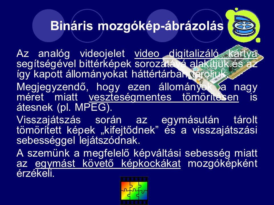 Bináris mozgókép-ábrázolás