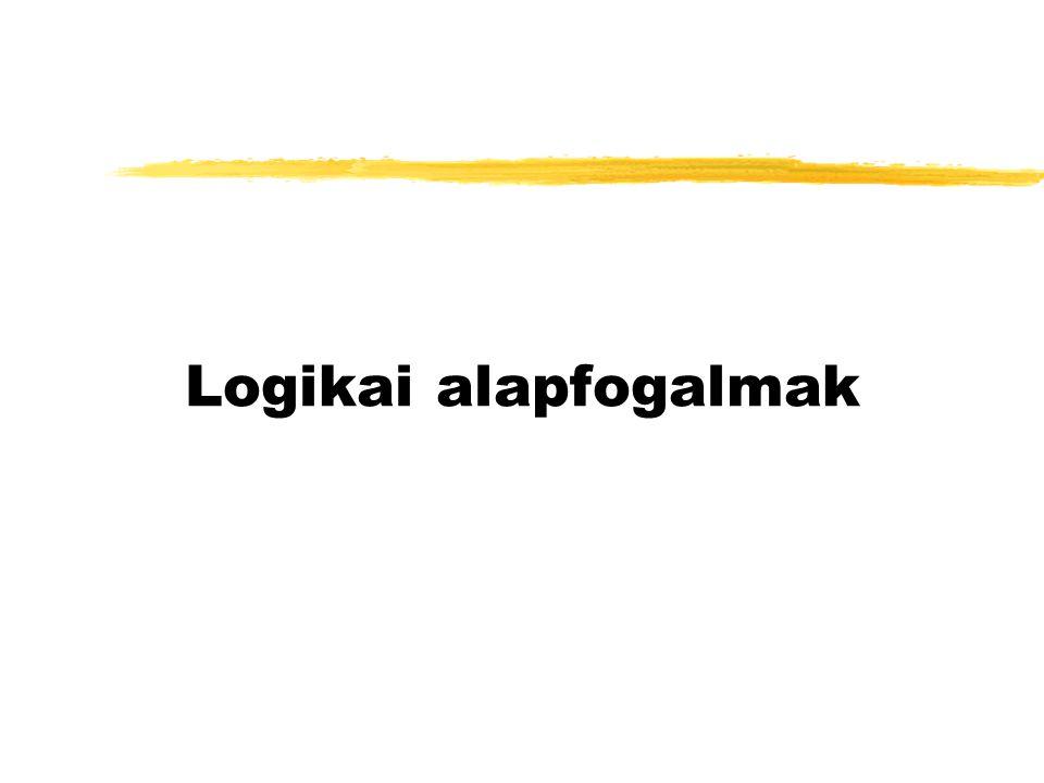 Logikai alapfogalmak