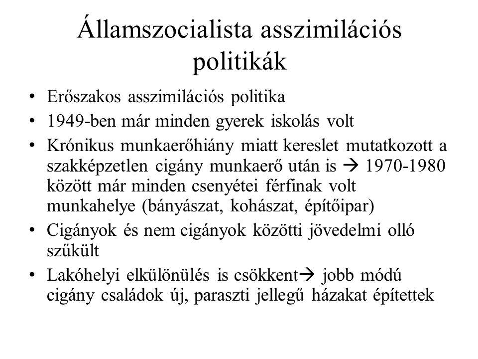 Államszocialista asszimilációs politikák