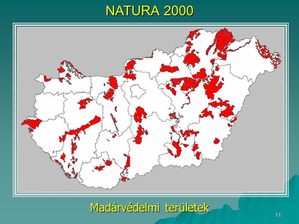Madárvédelmi területek