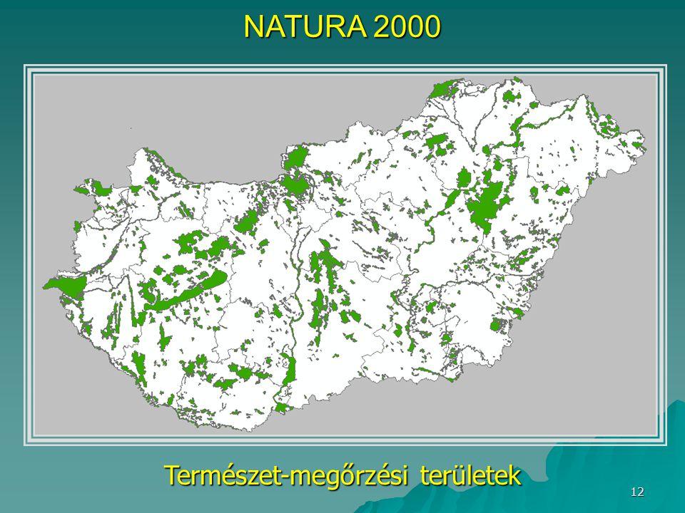Természet-megőrzési területek