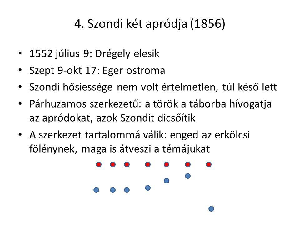 4. Szondi két apródja (1856) 1552 július 9: Drégely elesik