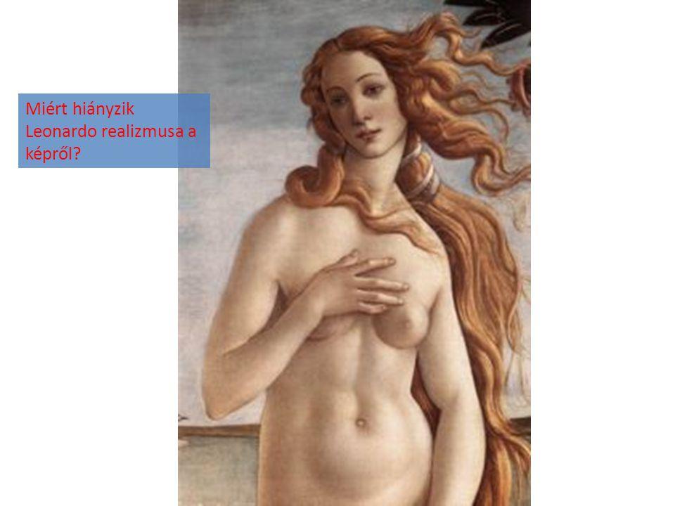 Miért hiányzik Leonardo realizmusa a képről