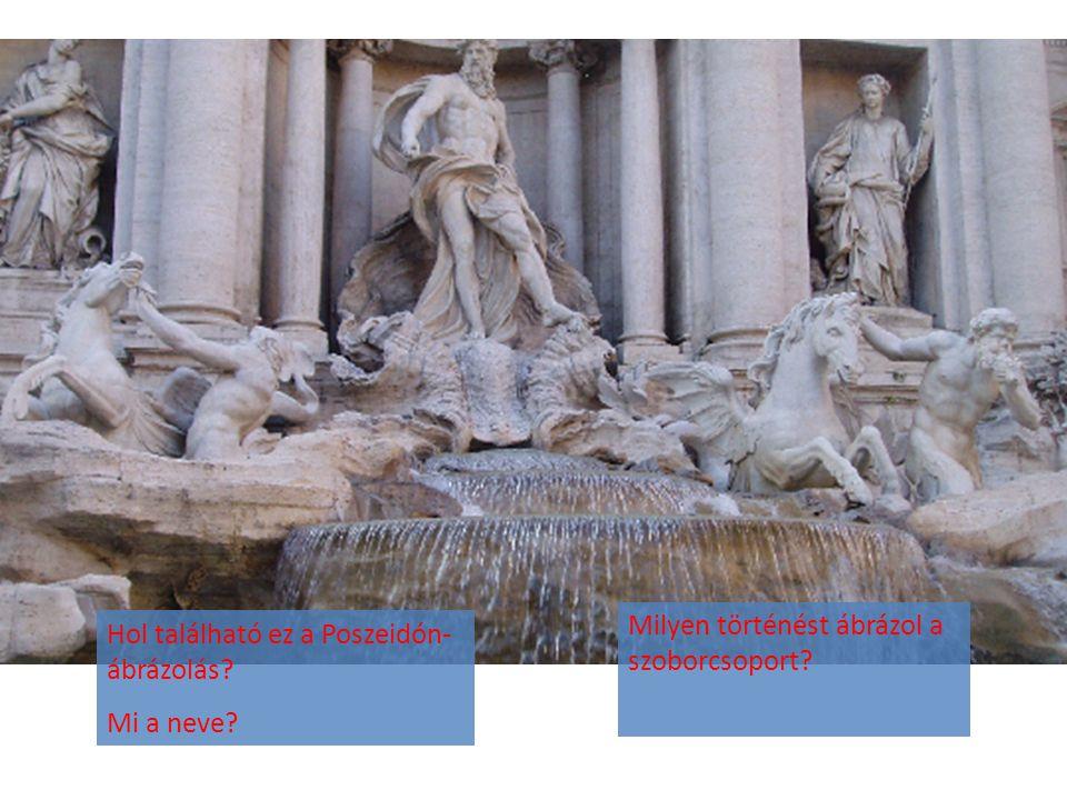 Milyen történést ábrázol a szoborcsoport