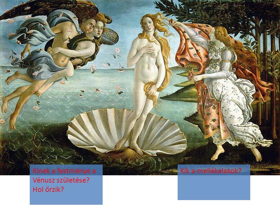 Kinek a festménye a Vénusz születése Hol őrzik