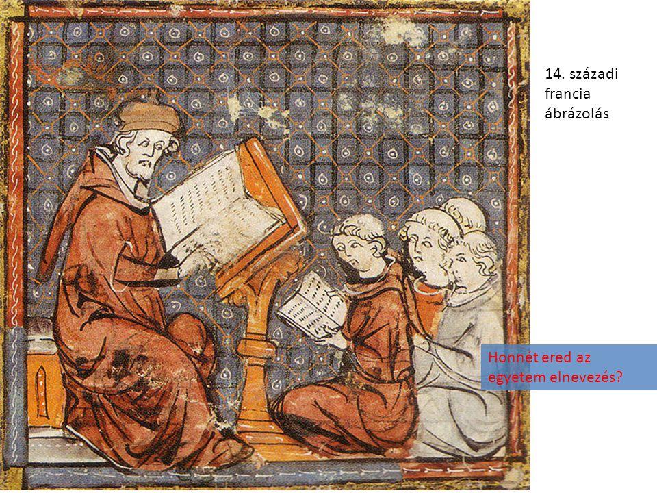 14. századi francia ábrázolás