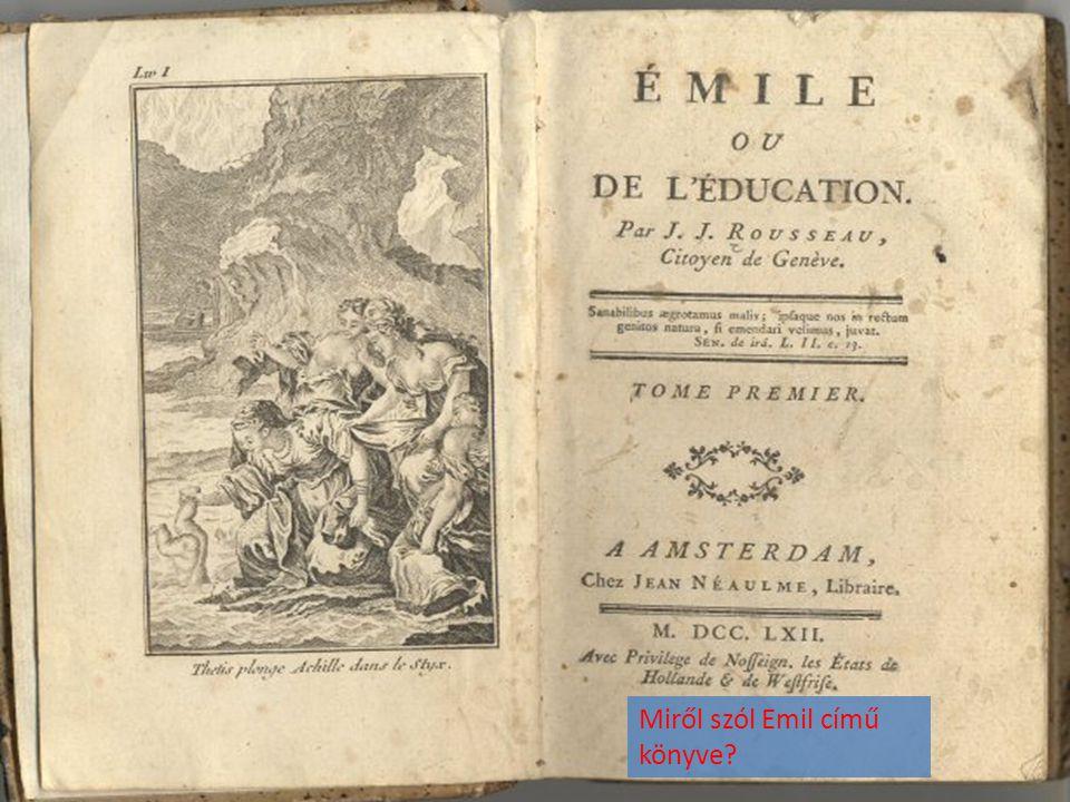 Miről szól Emil című könyve