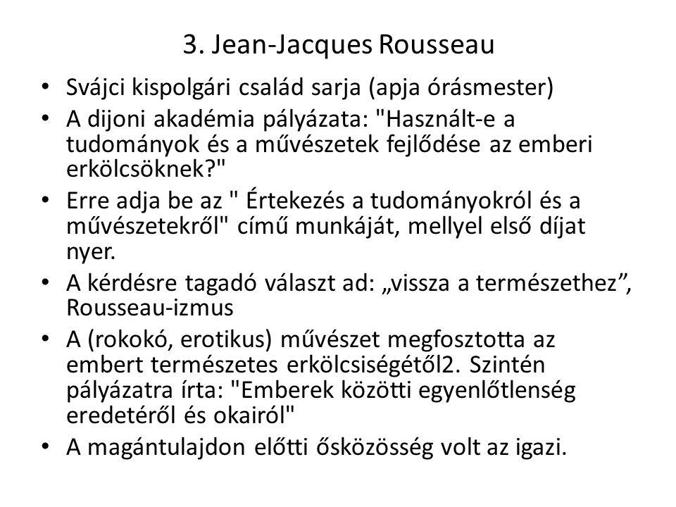 3. Jean-Jacques Rousseau