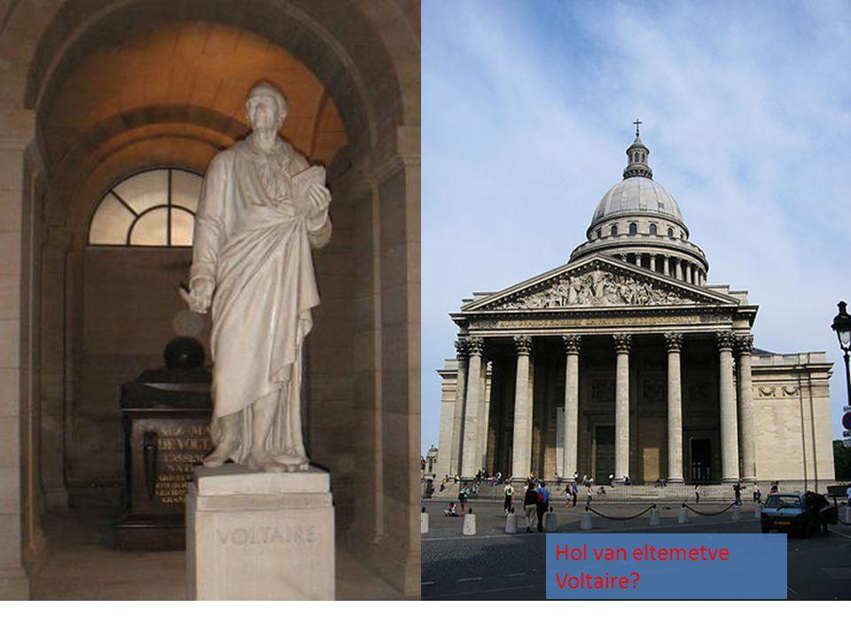 Hol van eltemetve Voltaire