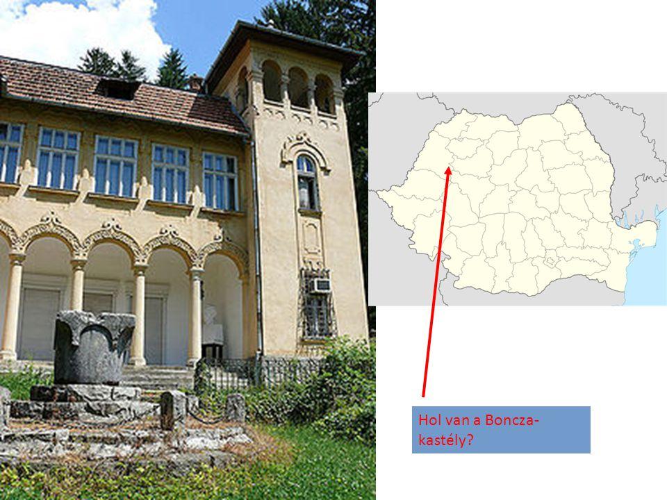 Hol van a Boncza-kastély