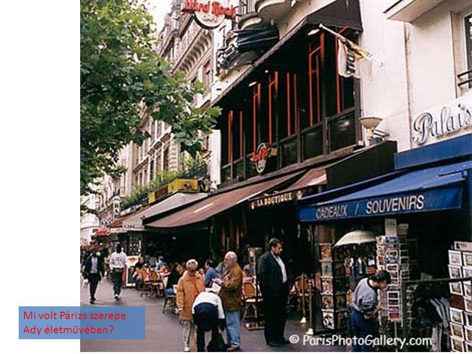 Mi volt Párizs szerepe Ady életművében