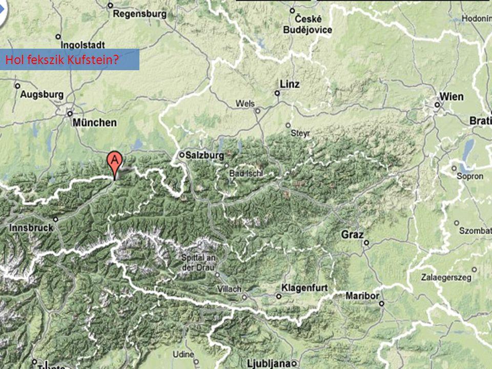 Hol fekszik Kufstein