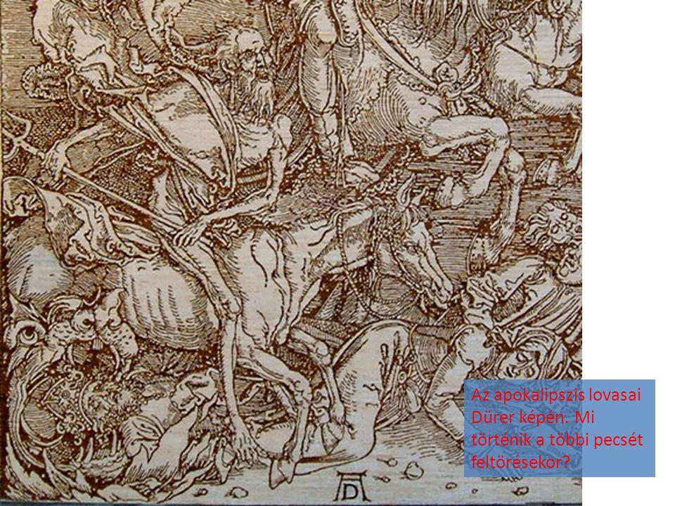 Az apokalipszis lovasai Dürer képén