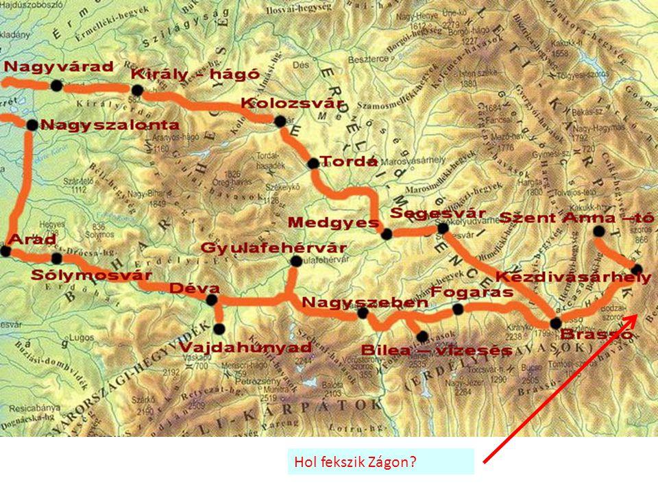 Hol fekszik Zágon