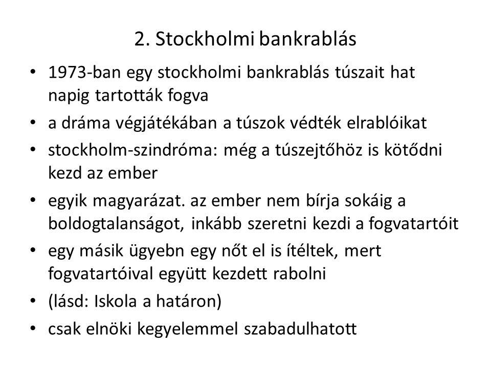 2. Stockholmi bankrablás