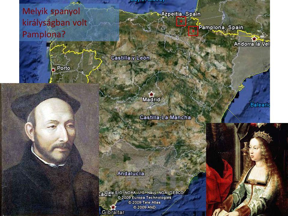 Melyik spanyol királyságban volt Pamplona
